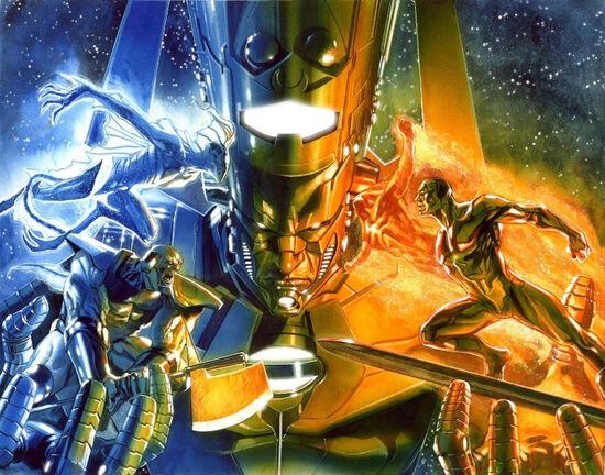 Annihilation Heralds of Galactus Vol 1 1-2 Textless