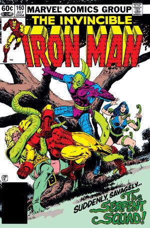 Iron Man Vol 1 160