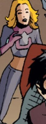 Julie Power (Earth-11080) from Marvel Universe Vs. The Avengers Vol 1 2 001