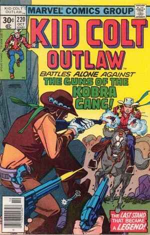 Kid Colt Outlaw Vol 1 220