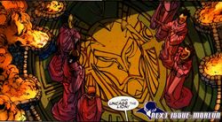Lion Cult (Earth-616) from Black Panther Vol 5 2 0002