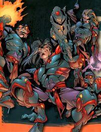 Si-Fan Cyber-Ninjas from X-Men Vol 2 62