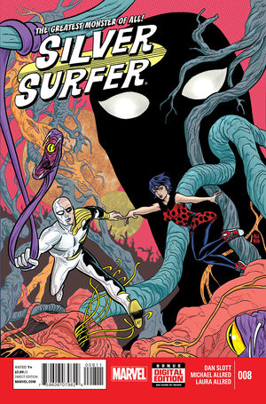 Silver Surfer Vol 7 8