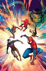 Spider-Man Enter the Spider-Verse Vol 1 1 Textless