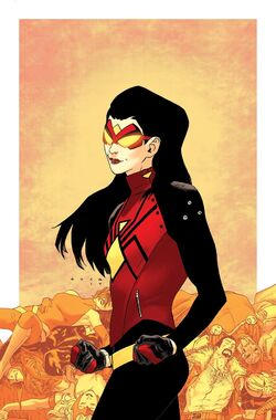 Spider-Woman Vol 5 5 Anka Variant Textless