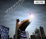 Stark Tower from Avengers Electric Rain 0001