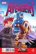 Uncanny Avengers Vol 1 12 LEGO Variant