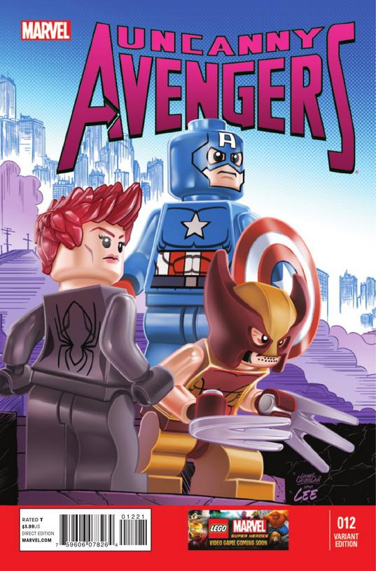 Uncanny Avengers Vol 1 12 LEGO Variant.jpg