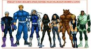 X-Nation (Earth-928) Official Handbook of the Marvel Universe A-Z Update Vol 1 3