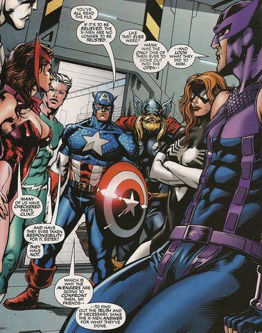 File:Avengers (Earth-161) from X-Men Forever Giant-Size Vol 1 1 0001.jpg