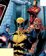 Avengers (Earth-312500) from Amazing Spider-Man Vol 1 637
