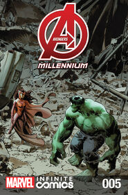 Avengers Millennium Infinite Comic Vol 1 5
