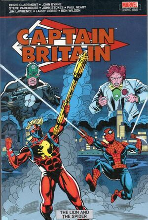 Captain Britain The Lion and the Spider TPB Vol 1 1