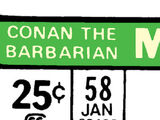 Conan the Barbarian Vol 1 58