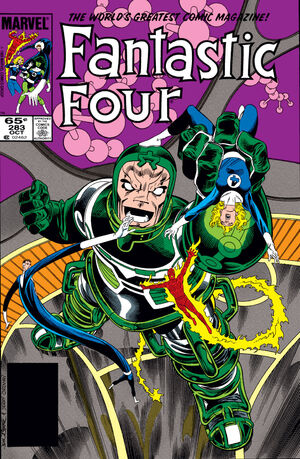 Fantastic Four Vol 1 283