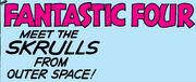 Fantastic Four Vol 1 2 Title