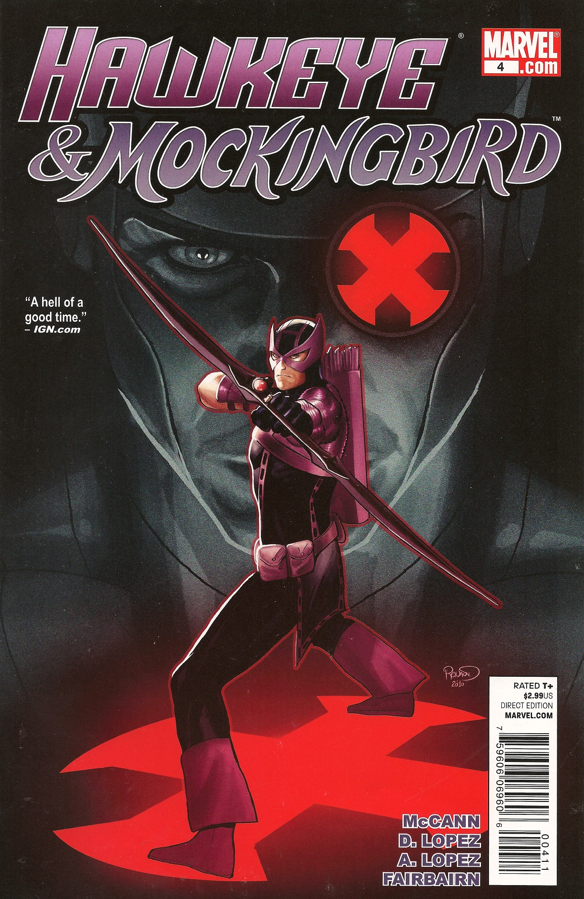 Hawkeye Mockingbird Vol 1 4