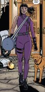 Katherine Bishop (Earth-616) and Lucky (Earth-616) from Hawkeye Vol 5 11 001