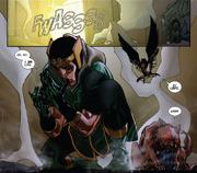 Loki turns back