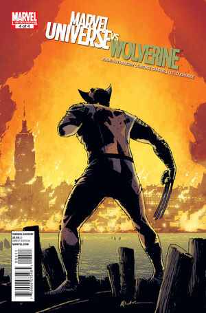 Marvel Universe Vs. Wolverine Vol 1 4