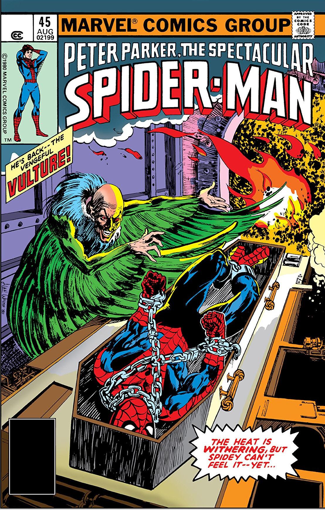 Peter Parker, The Spectacular Spider-Man Vol 1 45