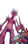 Rocket Raccoon and Groot Vol 1 1 Textless