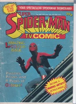 Super Spider-Man TV Comic Vol 1 450