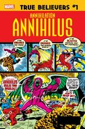 True Believers Annihilation - Annihilus Vol 1 1