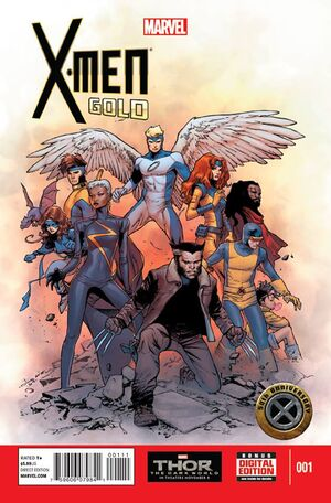 X-Men Gold Vol 1 1