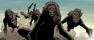 Australopithecus from Dark Avengers Vol 1 176 0001