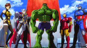 Avengers (Earth-14042) from Marvel Disk Wars The Avengers Season 1 8
