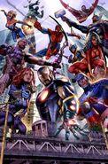 Avengers Vol 5 1 Hastings Variant Textless