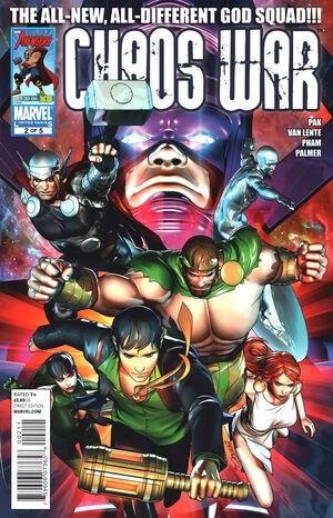 Chaos War Vol 1 2
