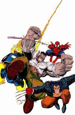 Fantastic Four Vol 1 348 Textless