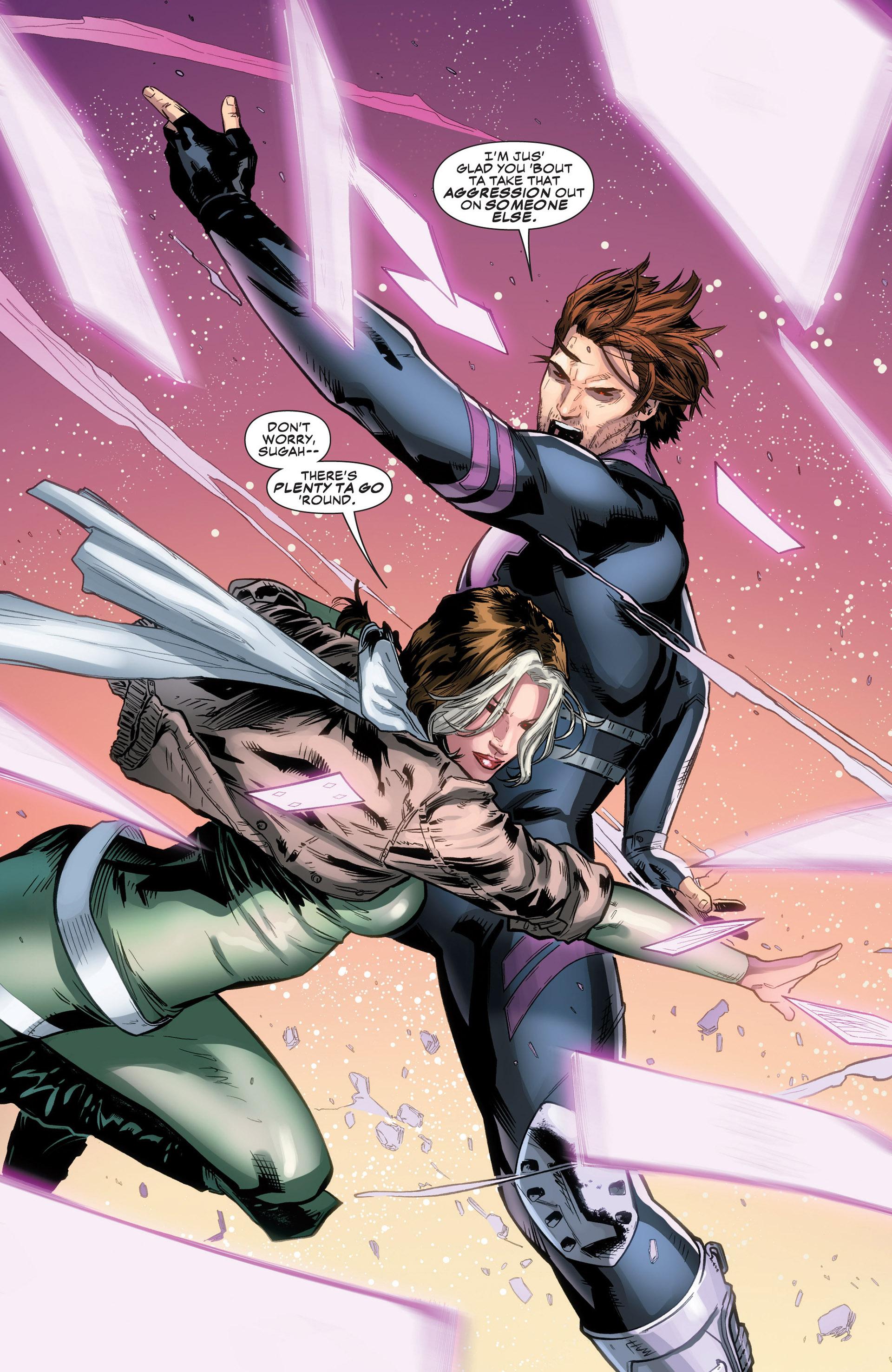 Gambit & Rogue from Gambit Vol 5 11