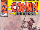 Handbook of the Conan Universe Vol 1 1