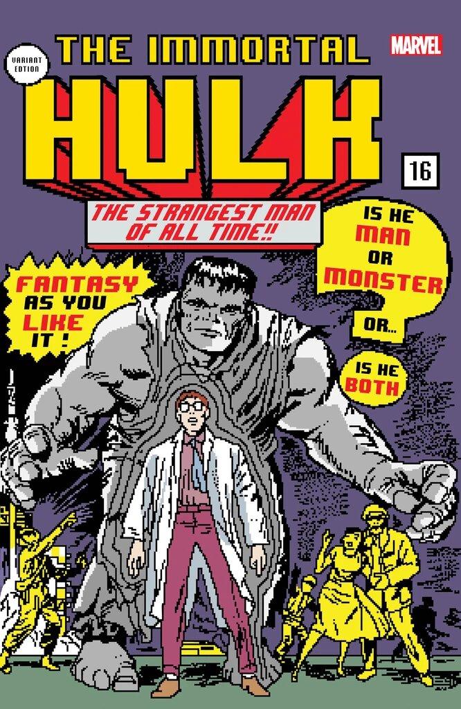 IMMORTAL HULK #16 FIRST PRINT APRIL 2019 SOLD OUT MARVEL COMIC BOOK ALEX ROSS 1