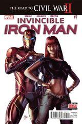 Invincible Iron Man Vol 3 7