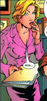 Karen Page (Earth-50302) from Marvel Age Spider-Man Vol 1 15 0001