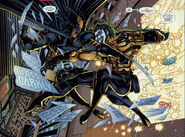Logan Wayne (Earth-9602) and Creed Quinn (Earth-9602) from Legends of The Dark Claw Vol 1 1 0001