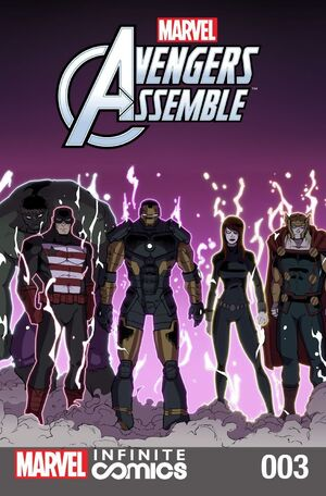 Marvel Universe Avengers Infinite Comic Vol 1 3