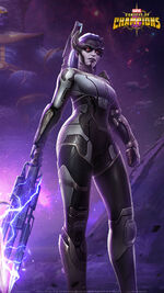 Proxima Midnight (Earth-TRN517) from Marvel Contest of Champions 003