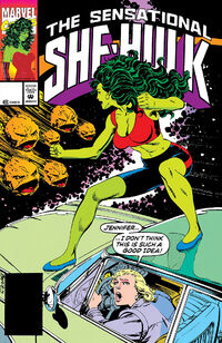 Sensational She-Hulk Vol 1 41