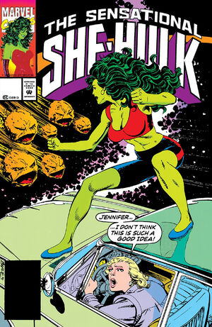 Sensational She-Hulk Vol 1 41