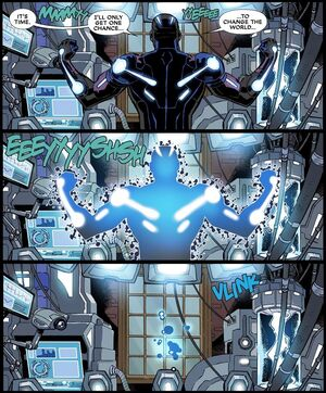 Split Second Temporal Dislocation Harness from Deadpool & Cable Split Second Infinite Comic Vol 1 1 003