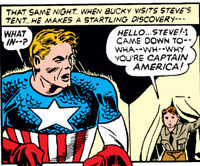 Steven Rogers and James Buchannan Barnes (Earth-616) from Captain America Comics Vol 1 1 0001