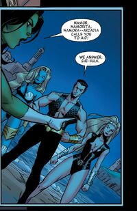 Sub-Mariners (Earth-16191) from A-Force Vol 1 1 001