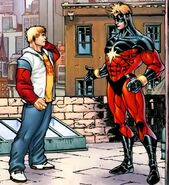 Theodore Altman (Earth-616) and Mar-Vell (Earth-616) from Young Avengers Presents Vol 1 2 001