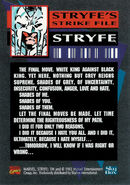 X-Force Vol 1 18 Trading card back