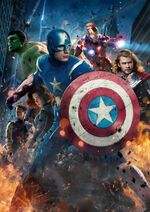 Avengers (Earth-199999) from Blu Ray cover